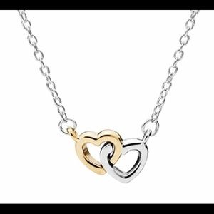 "PANDORA ""United in Love."" Necklace"